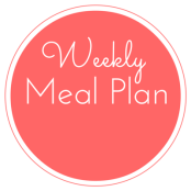 weekly meal plan sticker
